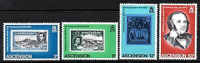 (Ref-9385) Ascension 1979 Death Centenary of Rowland Hill  SG.254/257 Mint (MNH)