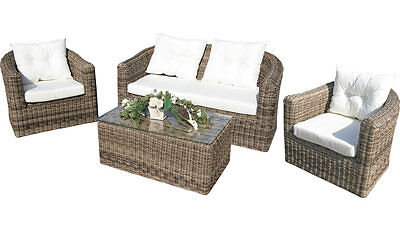 rund polyrattan gartenm bel poly rattan lounge sitzgruppe. Black Bedroom Furniture Sets. Home Design Ideas