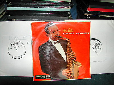 Jimmy Dorsey-The fabulous LP 1957 2 x 1 sided test pressing