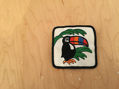 toucan patch,new old stock, 60's