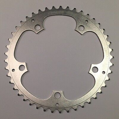 Shimano 45 Tooth Chainring - 5-bolt - 130mm BCD - Brand New - Silver