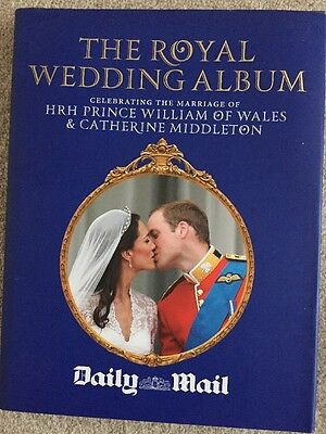 The Royal Wedding Album Hard Back Book. William And Kate