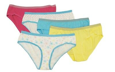 965bd6cd25fc Vanity Fair Assorted 5-Pack Cotton Hipsters Panties Women's XL (8) #18343