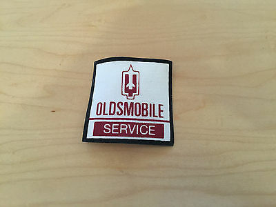 oldsmobile,service  patch, 80's,new old stock iron on,set of 2