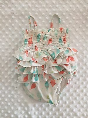 Janie and Jack One-Piece Swimsuit 6-12 Months