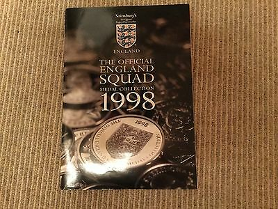 Official England Squad Medal Collection 1998