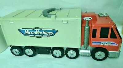 Vintage Micro Machines Otto's trucking lorry playset, fold out city