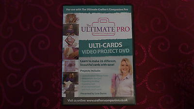 Ultimate Pro Ulti-Cards And Box's Cd Rom From Crafters Companion