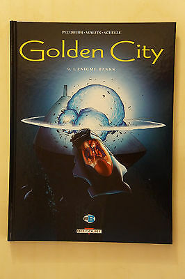 BD GOLDEN CITY tome 9 l'énigme banks  §  EO § 2011 ETAT NEUF( AW2GE27)