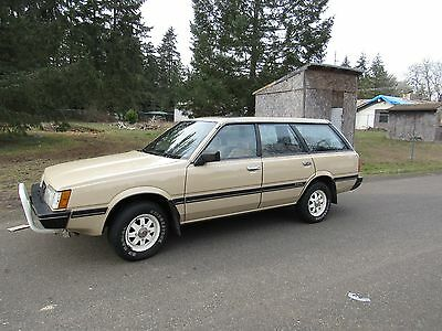 1985 Subaru 21,823 ACTUAL MILES GL WAGON 4WD 1985 Subaru GL wagon 4WD 21k actual miles selling no reserve world wide auction!