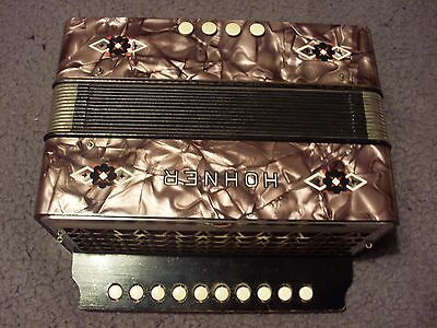 One Row Hohner Melodeon Key Of C