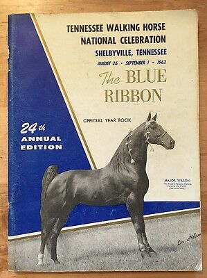 The Blue Ribbon Tennessee Walker / Walking Horse Yearbook 24th Edition (1962)
