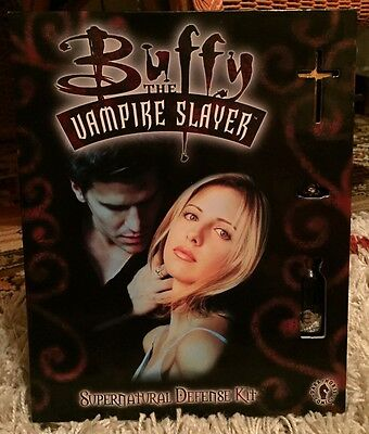 Buffy TVS Supernatural Defence Kit With Graphic Novel, Cross, Ring, Etc