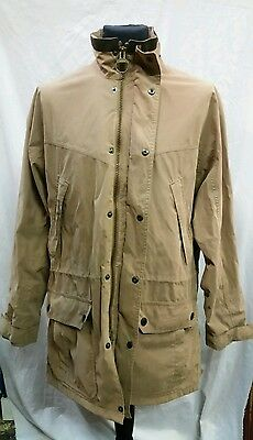 Mens Barbour Waterproof And Breathable Lightweight Fulbourn  Coat Size Large