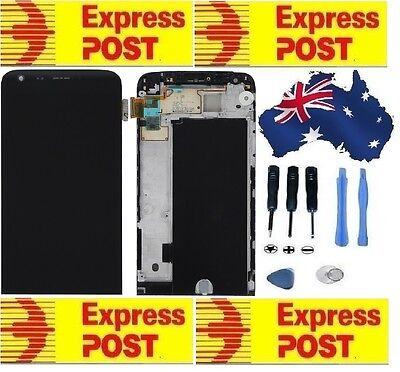 LG Genuine  G5(LGH850) Digitizer Touch screen + frame+ LCD  Black Color