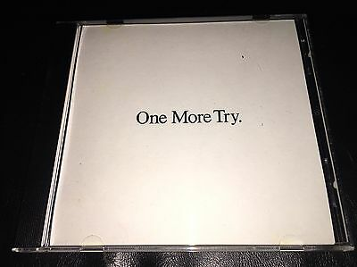George Michael One More Try 1 track 1988 Promo CD single