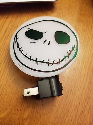 Vtg Disney Nightmare Before Christmas JACK SKELLINGTON Night Light