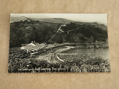 Early Era Theme Real Photo Postcard View Of Port Soderick, Isle Of Man X 1