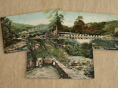 Early Era Theme Postcard Views Ofgilsland In Northumberland X 3
