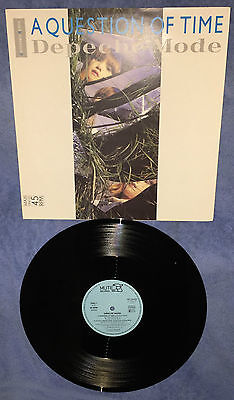 """DEPECHE MODE  A QUESTION OF TIME 12"""" Germany INT 126.850"""