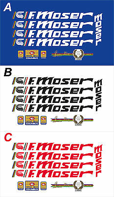 F. Moser Classic Frame Decal Set