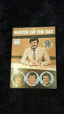 bbc match of the day soccer annual 1981