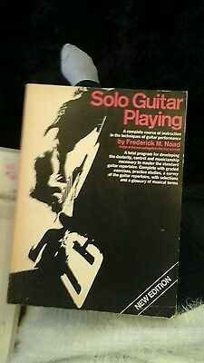 solo guitar playing book by Frederick M Noad