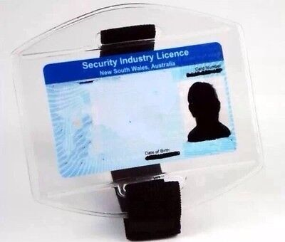 3 Pack Security Armband Licence ID Holder 2016 Release (Black)