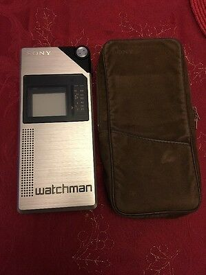Vintage Sony FD-210BE Watchman - Japanese One Of The 1st Portable TVs