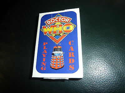 DR Who Playing Cards Jonder Promotions 1980's Complete