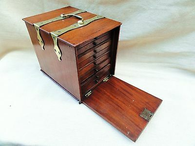 A Nineteenth Century Mahogany Collectors Cabinet