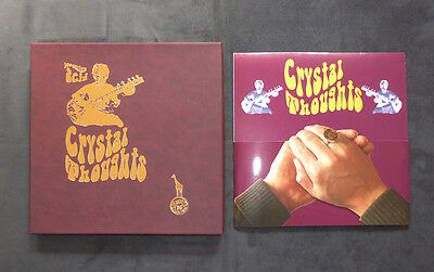 "Crystal Thoughts - Becoming Acid - 10"" Mini Lp - Leather Box - 50 Copies"