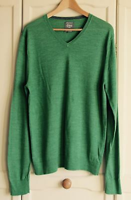 Linea Men's Jumper Green  - Size Medium L@@@@K RRP£55