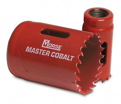 "M K MORSE MASTER COBALT Bi-METAL HOLE SAW FROM 95 mm ( 3 3/4"" ) To 152 mm ( 6 """