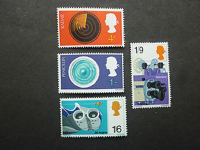 British Stamps NH  British Discovery and Invention