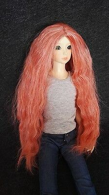 "9-10"" Carrot Heat Resistant Wig for 1/3 SD Doll BJD Girl Dollfie"