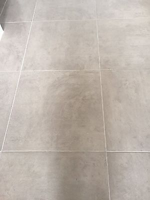 40 Floor tiles 600mm x 600mm (excess from new home build)
