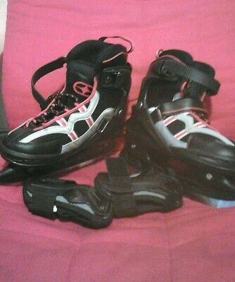 No fear bolt ice skates Junior boys