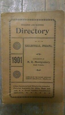 1901 Residence & Business Directory - Shelbyville IN
