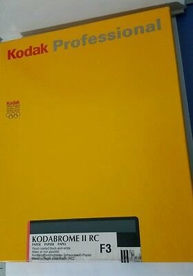 Kodak Professional 100 SHEETS Paper Black & White 8x10in(20.3x25.4 cm) Exp.03/03