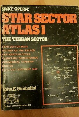 Star Sector Atlas 1 for the Space Opera rpg