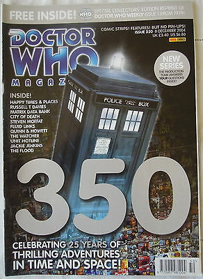 Dr Who Issue 350 December 8th Magazine 2004 Panini