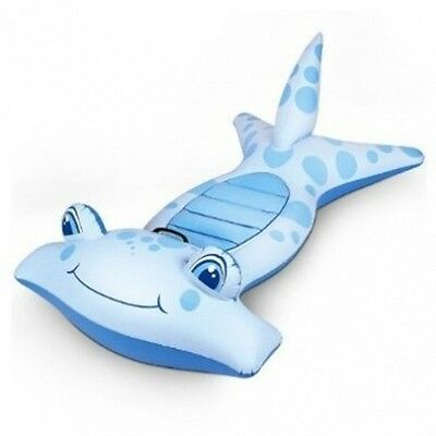 Ride On Hammerhead Shark Inflatable Floating Pool Toy 104Cm Long