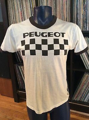 TRUE Vintage Peugeot Racing French France Bicycle Bike T-shirt