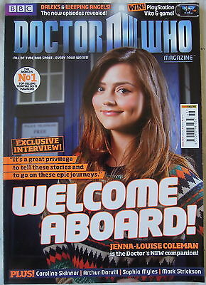 Dr Who Issue 446 May 2nd Magazine 2012 Panini