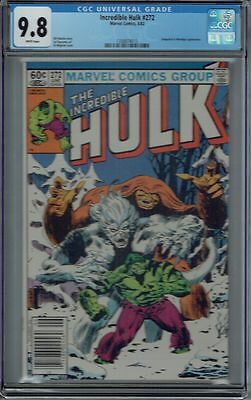 Cgc 9.8 Incredible Hulk #272 White Pages 2Nd Appearance Rocket Raccoon