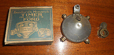 Model T Ford Timer - NOS Unique Timer with Box - Benford's Monarch - 1913 1914