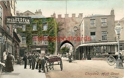 Printed Postcard Of The High Street, Chepstow, Monmouthshire, Wales, Frith's