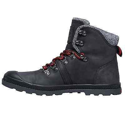 7a718c52ece PALLADIUM WOMENS PALLABROUSE Hiker Low Profile Shoe Leather Out ...