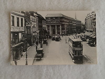 Early Era Theme Postcard View Of Old Broadgate In Coventry